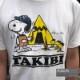 TAKIBI SNOOPY S/S TEE(WHITE)