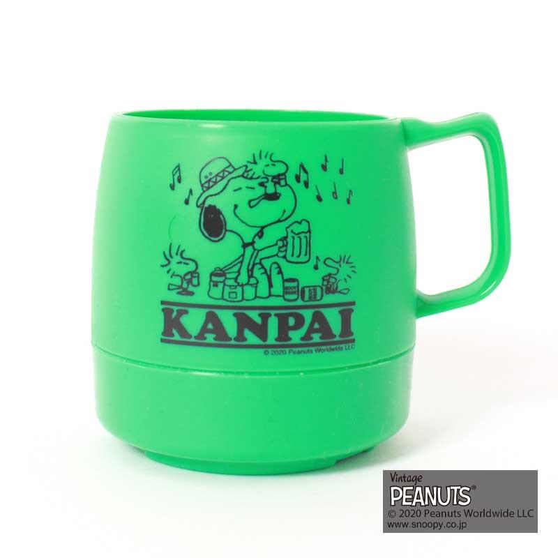 DINEX MUG SNOOPY(GREEN)(KANPAI)