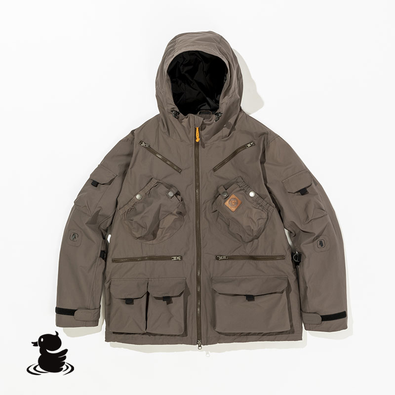 TEBURA MOUNTAIN PARKA21 (GRAY)