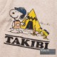 TAKIBI SNOOPY S/S TEE(KIDS)(H.MOCHA)