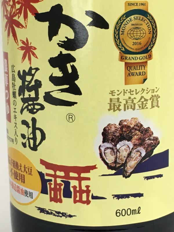 アサムラサキ かき醤油 600ml 6本