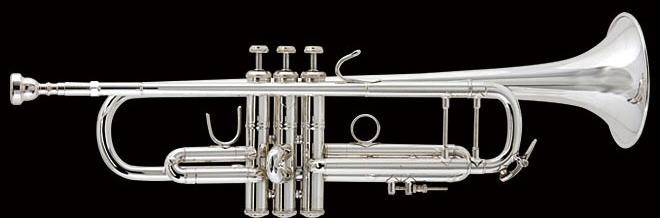 【当店選定品!特価!】V.Bach(バック) 180ML37GBSP トランペット・ゴールドブラスベル・銀メッキ