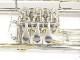 【在庫限り!】 Cerveny(チェルベニー) Bbロータリートランペット CTR-501HX イエローブラス
