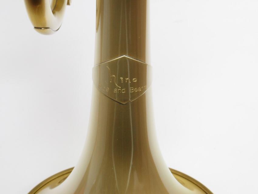 "Queen Brass(クイーンブラス)Bbトランペット 日野皓正""Hino""モデル・ヘビーウェイト・サテンラッカー仕上げ"