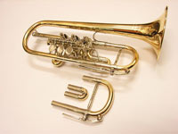 WILLENGERG(ヴィレンベルグ) E♭/D管ロータリートランペット・コンバーチブルモデル・ゴールドブラス Eb/D