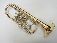 WILLENGERG(ヴィレンベルグ) C管ロータリートランペット・オーケストラモデル・ゴールドブラス C-GB