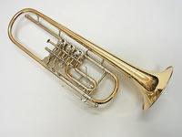 WILLENGERG(ヴィレンベルグ) B♭管ロータリートランペット・オーケストラモデル・ゴールドブラス Bb-GB