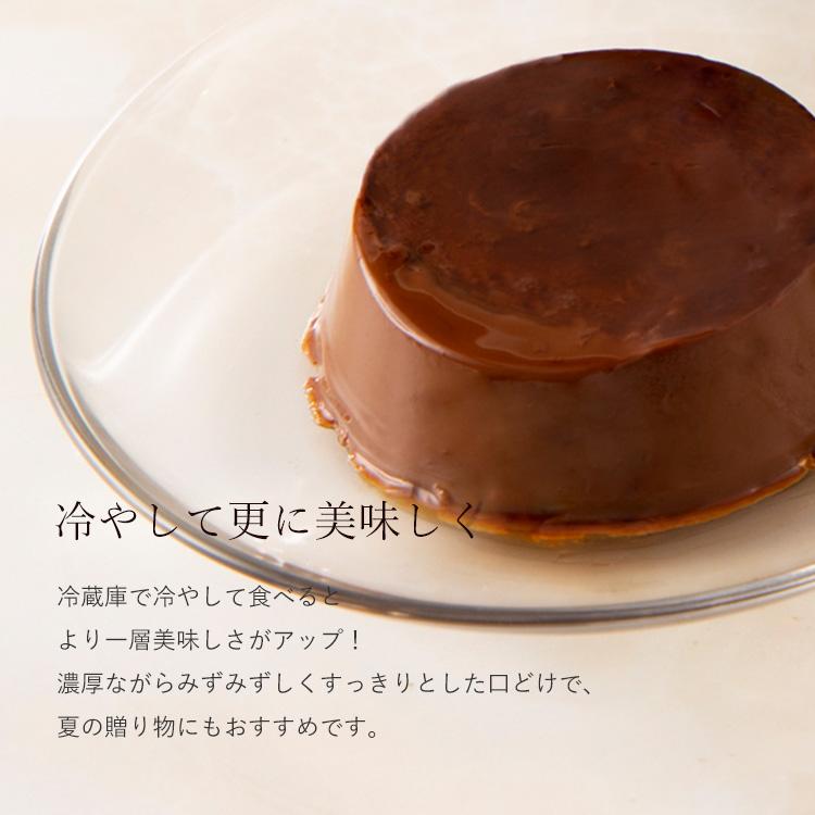 チョコレートプリン 6個入