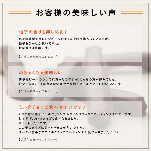柚子ピールチョコ 7本入【熨斗不可】