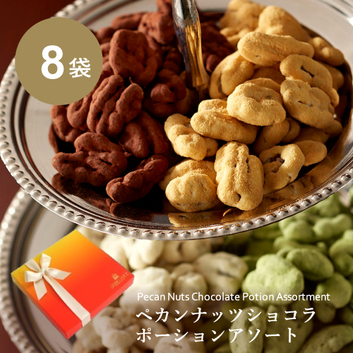 ペカンナッツショコラ ポーションアソート 8袋入