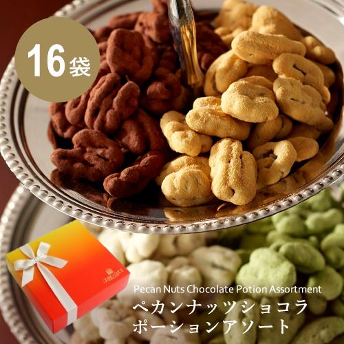 ペカンナッツショコラ ポーションアソート 16袋入