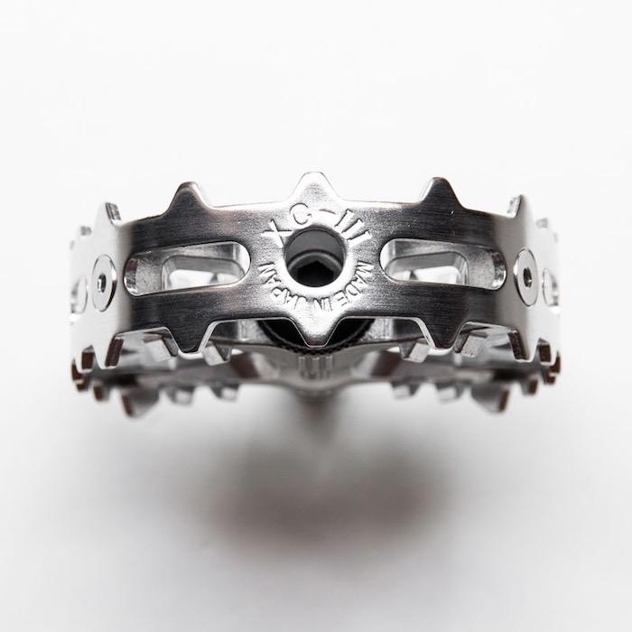 MKS XC-III bear trap pedal (silver) 三ヶ島製作所 ペダル