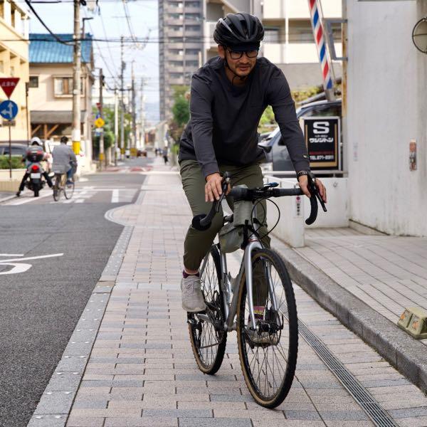 narifuri ライトウェイトスパンライクジョガーズ NF5066 ナリフリ 速乾性 ストレッチ性 自転車用 パンツ 街乗り コミューター