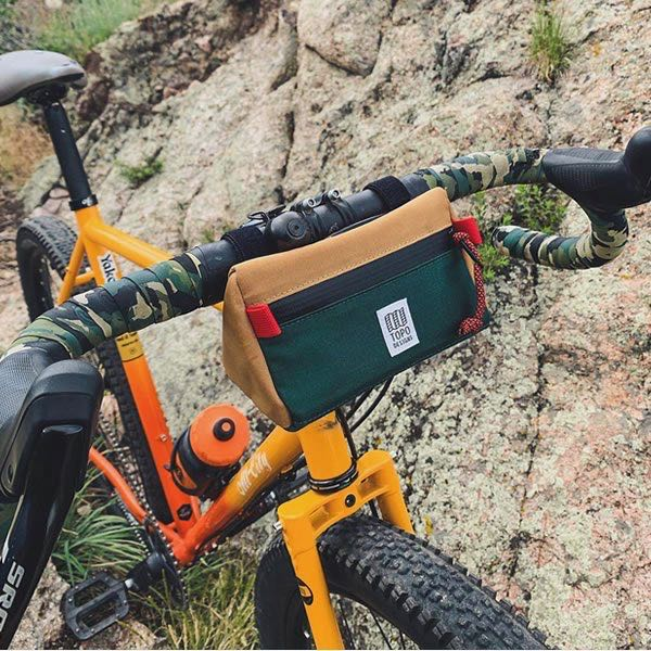 TOPO DESIGNS  MINI BIKE BAG トポデザイン バイクバッグ ハンドルバッグ コンパクト 子供用自転車 フロントバッグ