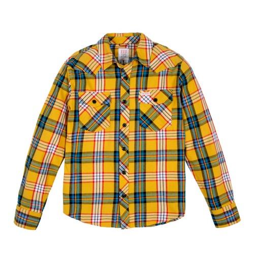 MOUNTAIN SHIRT PLAID MEN'S マウンテンシャツ TOPO DESIGNSトポデザイン