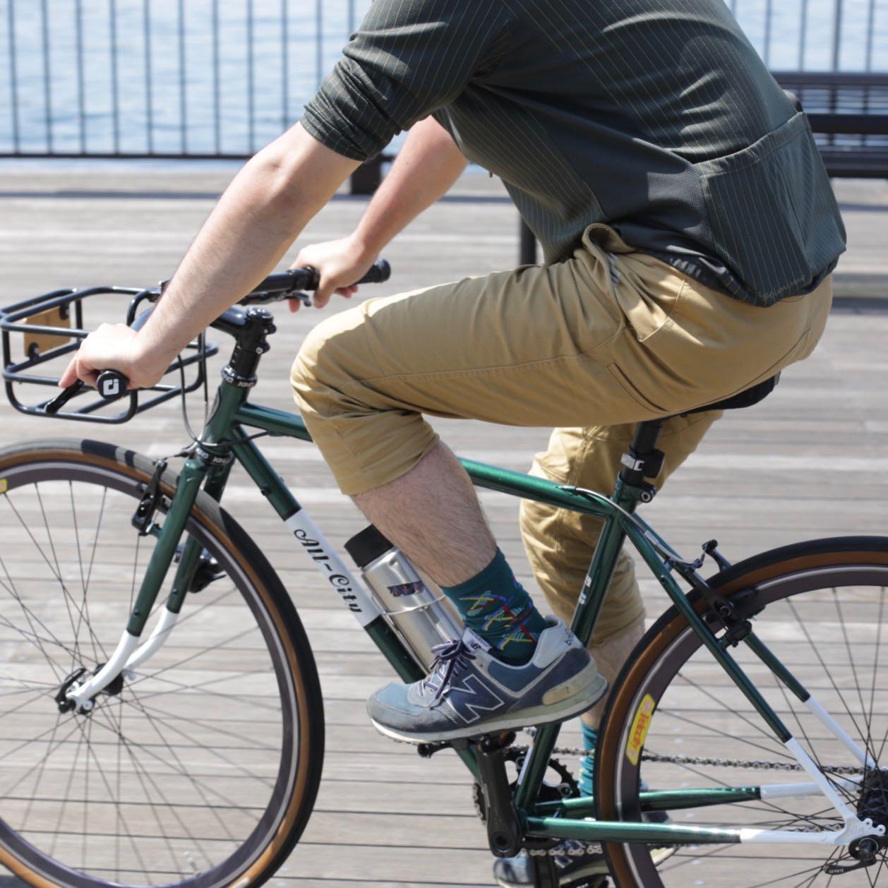 ナリフリ バイクパンツ narifuri NF5000 NF649 短パン サイクリスト 人気 自転車  ファッション メンズ 街乗り コミューター