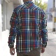 FIELD SHIRT PLAID MEN'S フィールドシャツ TOPO DESIGNSトポデザイン