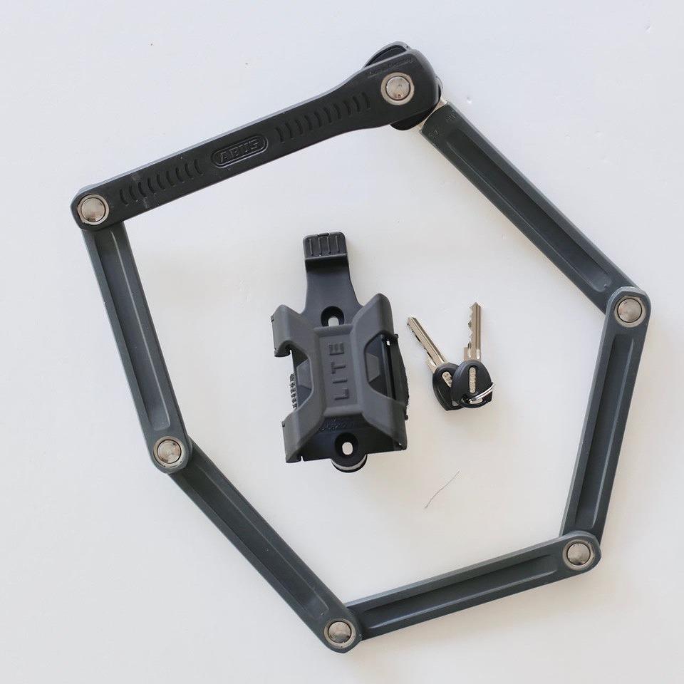 ABUS BORDO LITE 6055/85 鍵式 レベル7 国内正規品 アブス 自転車 鍵 盗難防止 駐輪 自転車通勤 自転車通学 安心