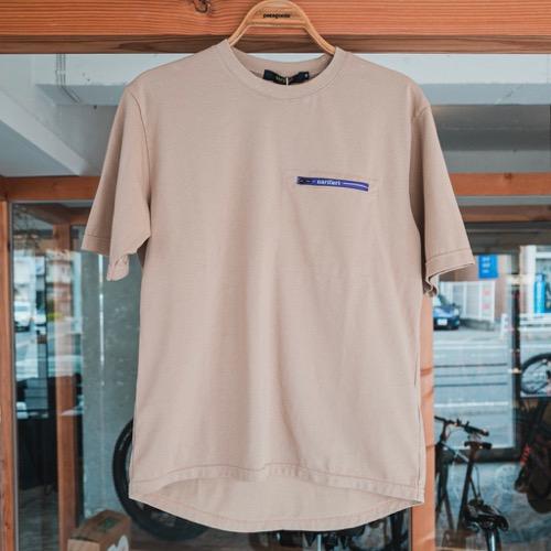 ナリフリ マルチテック ポケット Tシャツ NF1131 narifuri 速乾性抜群 汗染み防止 自転車 サイクリング 街乗り コミューター ロードバイク カジュアルサイクリスト しまなみ海道 とびしま海道 マスク入れ 胸ポケット