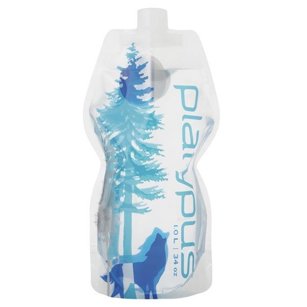 Platypus ソフトボトル 1.0L キャンプアウトドア畳めるエコ 水筒 軽量 頑丈 コンパクト