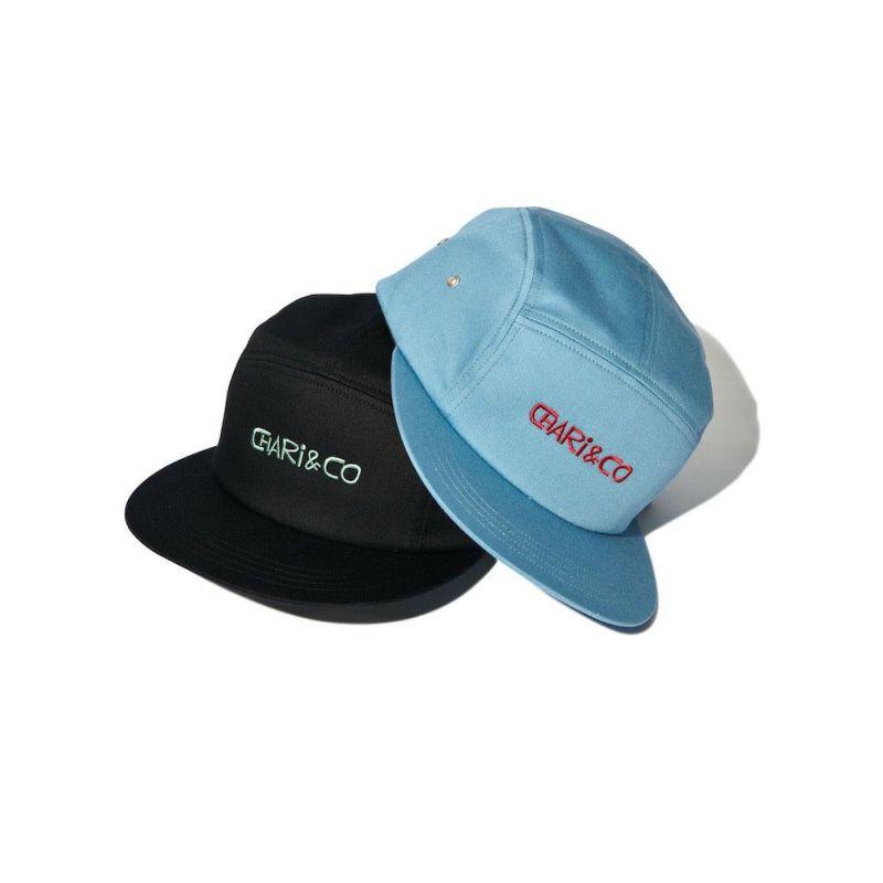 x HANAI LOGO 5 PANEL CAP キャップ 帽子 Chari&Co チャリアンドコー