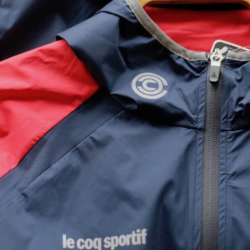 【30%OFF】LE COQ SPORTIF TEAM HALF ZIP JACKET ルコック Chari&Co チャリ&コー おしゃれスポーツ スポーツジャケット