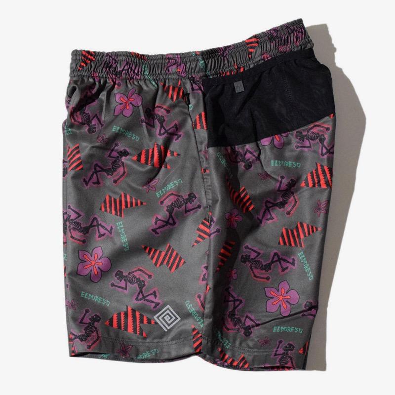 ELDORESO Pietri Shorts(Purple) エルドレッソ マラソン トレラン ランニング ショーツ