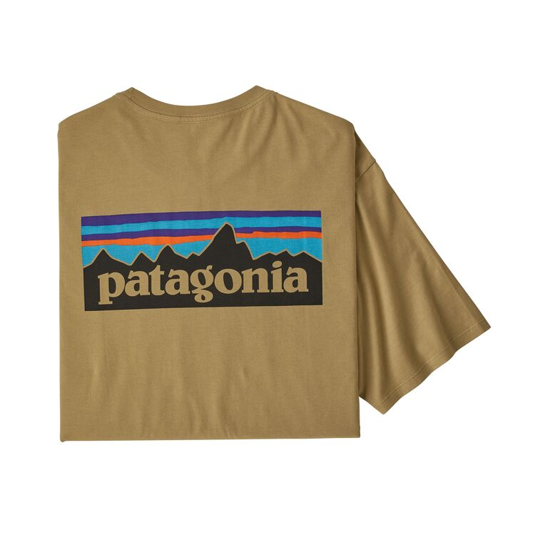 メンズ P 6ロゴ オーガニック Tシャツ パタゴニア Patagonia #38535