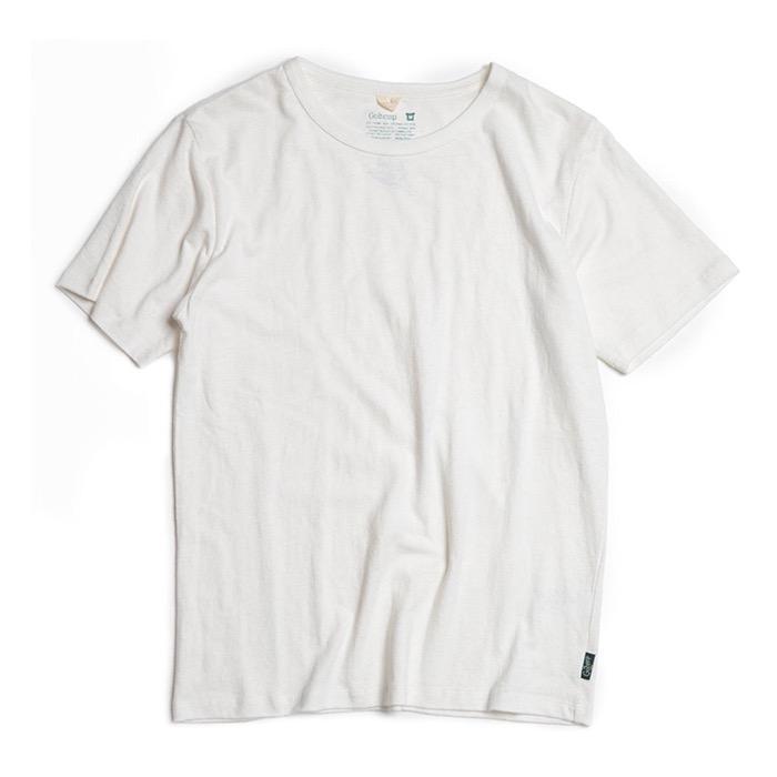 GOHEMP BASIC S/SL TEE  HEMP / ORGANIC COTTON JERSEY ゴーヘンプ Tシャツ GHC4200RG20