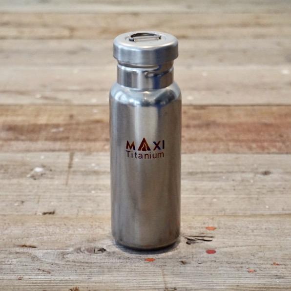 MAXI 800ml Titanium Watre Bottle マキシチタンボトル MXーTWB