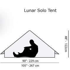 SIX MOON DESIGNS Lunar Solo 2021 シックスムーンデザインズ ルナーソロ テント バイクパッキング キャンプツーリング