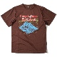 Doppelganger T (Brown) ELDORESO エルドレッソトレラン ランニング マラソン Tシャツ
