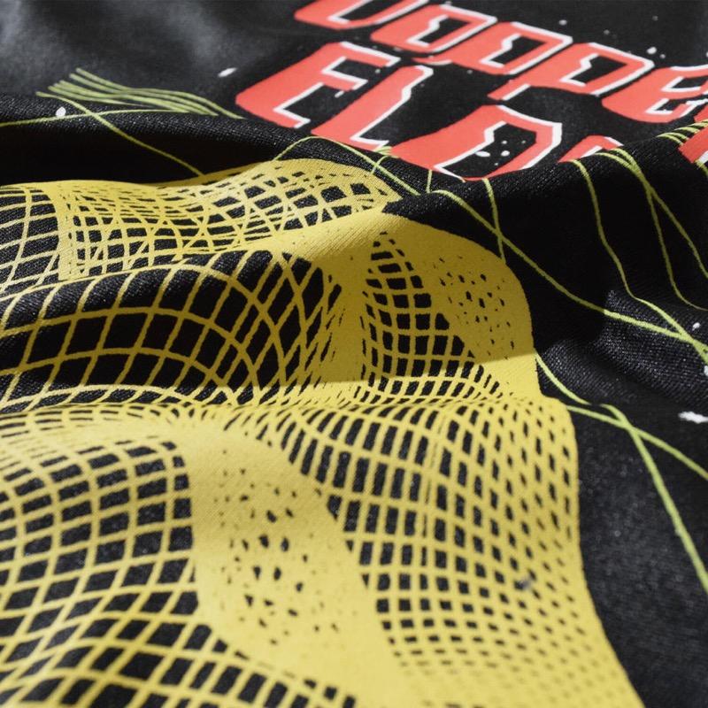 Doppelganger T (Black) ELDORESO エルドレッソトレラン ランニング マラソン Tシャツ