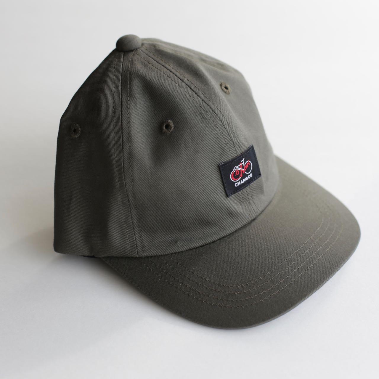 【30%OFF】CYCLE LOGO POLO CAP キャップ レッドのみ 帽子  CHARI&CO チャリアンドコー