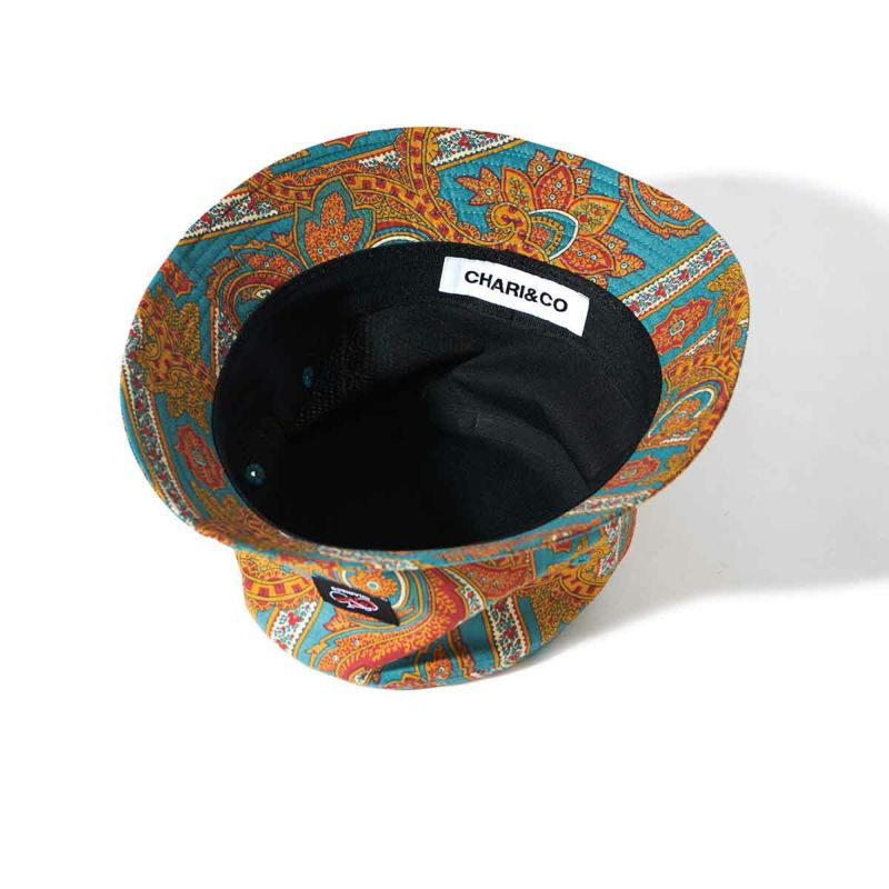 USA FABRIC PAISLEY BUCKET HAT  帽子 Chari&Co チャリアンドコー