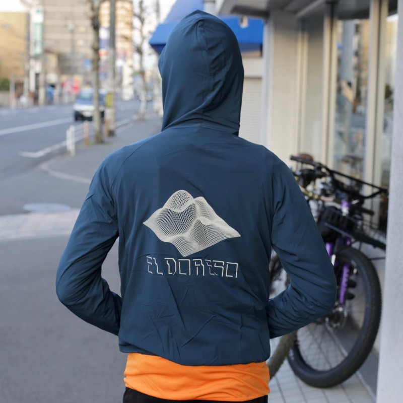 Distance Parka(Navy) ELDORESO エルドレッソトレラン ランニング マラソン