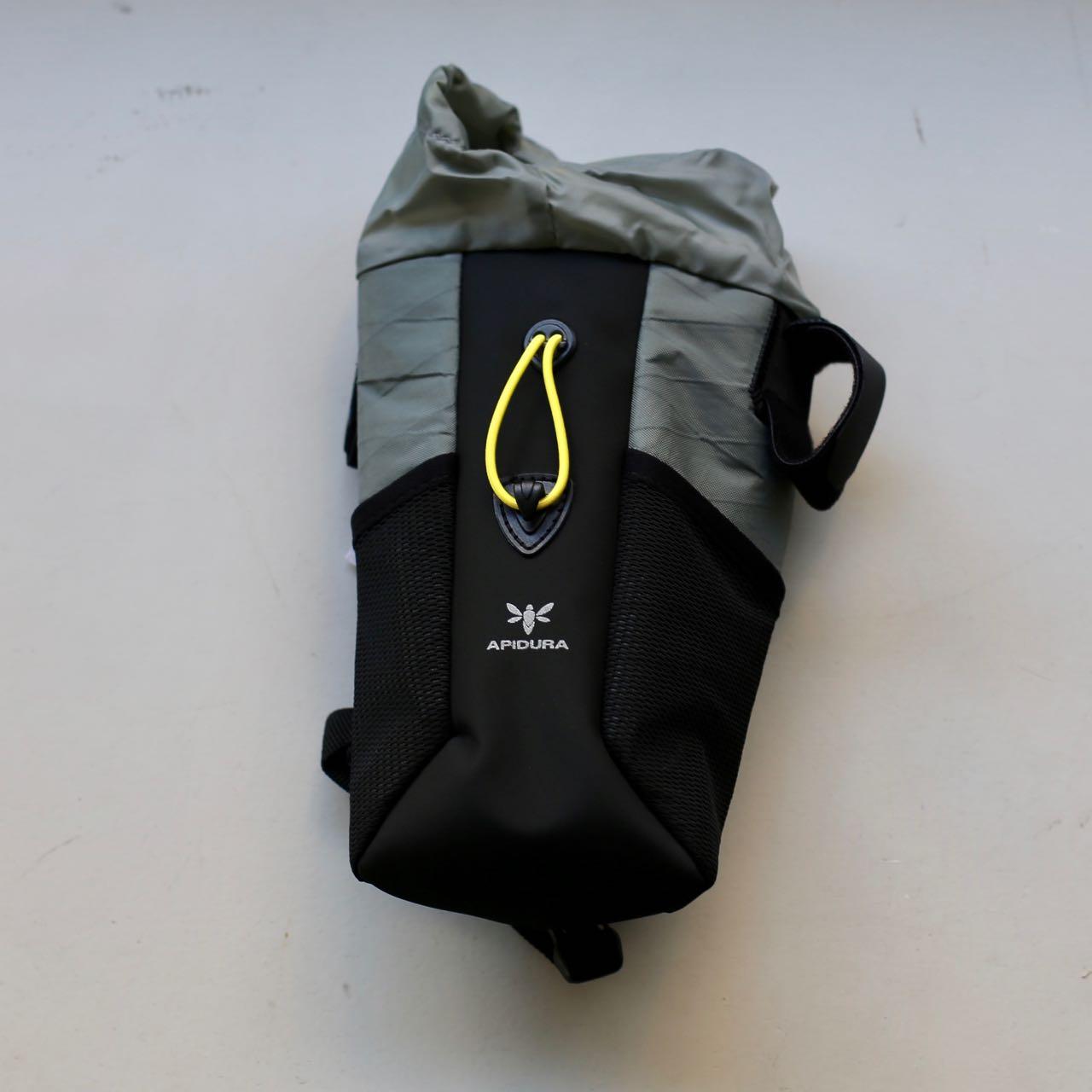【1.2L】メッシュポケット付き フードポーチプラス ラージ APIDURA/アピデュラ