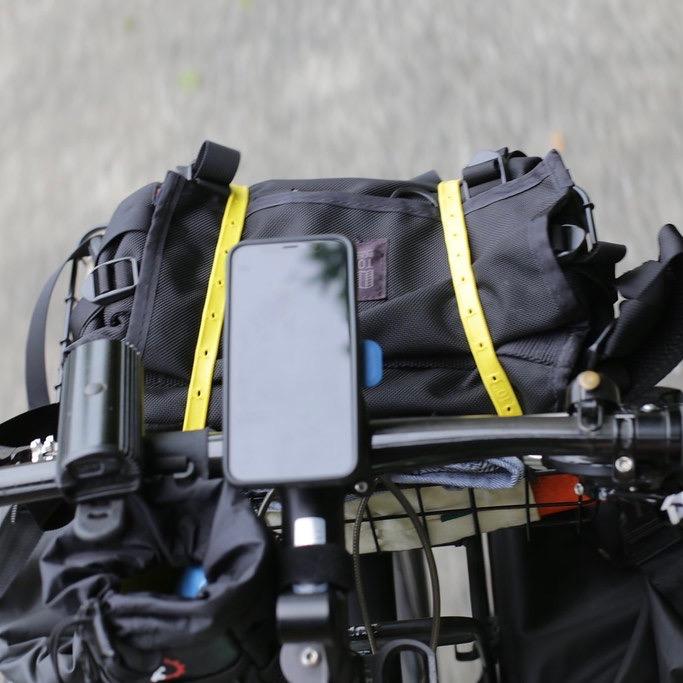 [ネコポス対応]StrapGear ストラップギア 12インチ 自転車 ストラップ アウトドア キャンプ フロントラック リアラック 前カゴ 荷紐 固定 シリコンバンド wald 137 バスケット