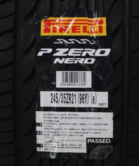 PIRELLI P-ZERO NERO 245/35R21 96Y XL 【数量限定】