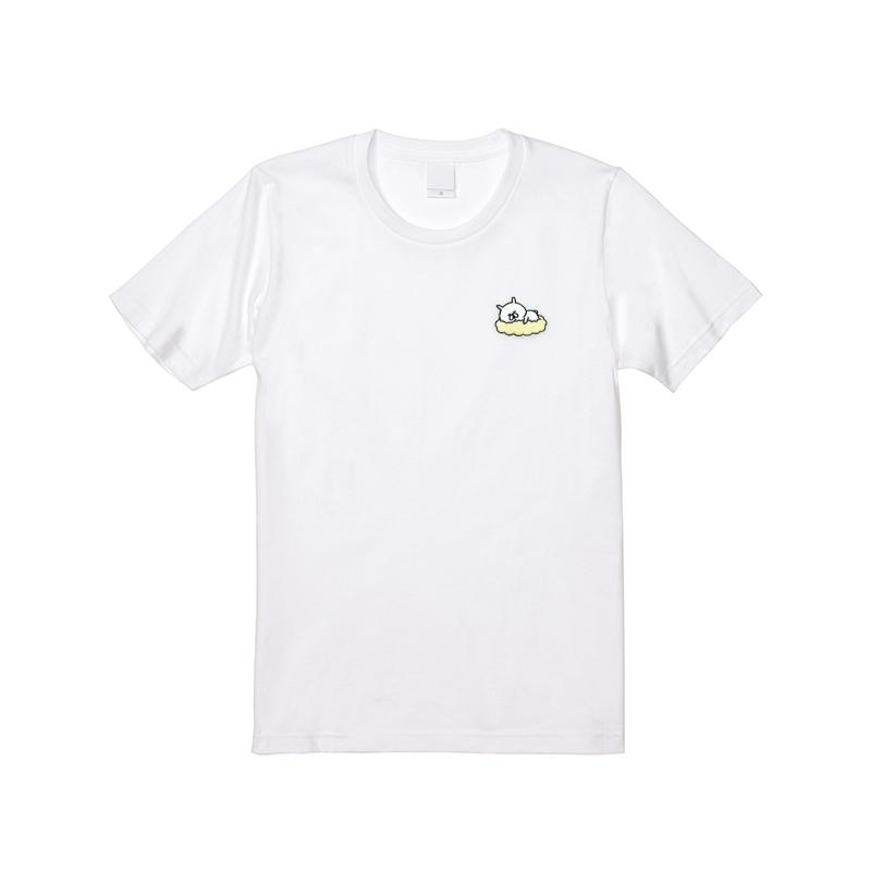 ゆるうさぎ 刺繍 Tシャツ L