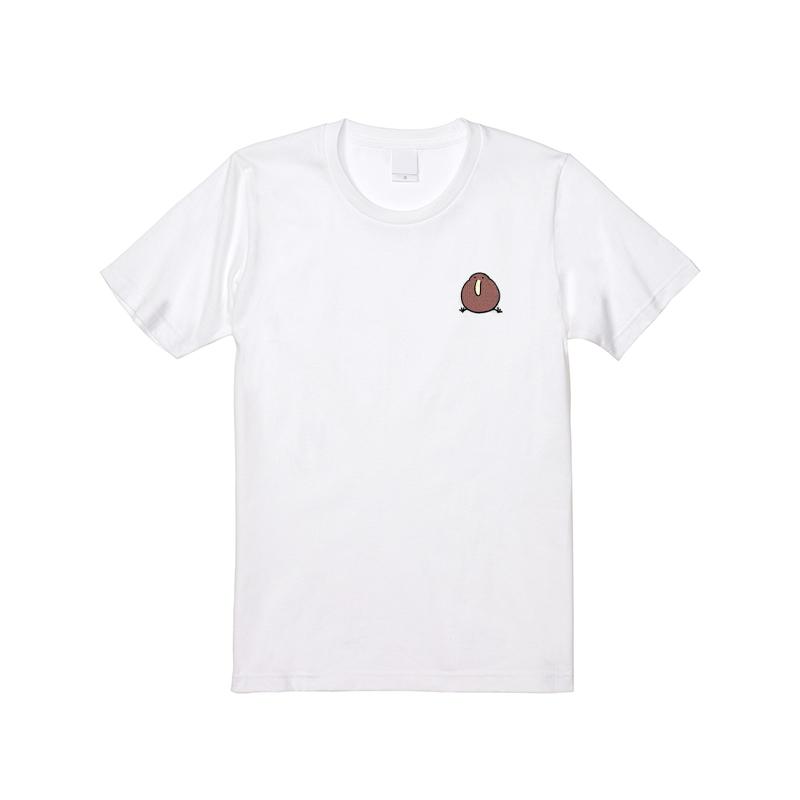 ゆるいキーウィ 刺繍 Tシャツ M