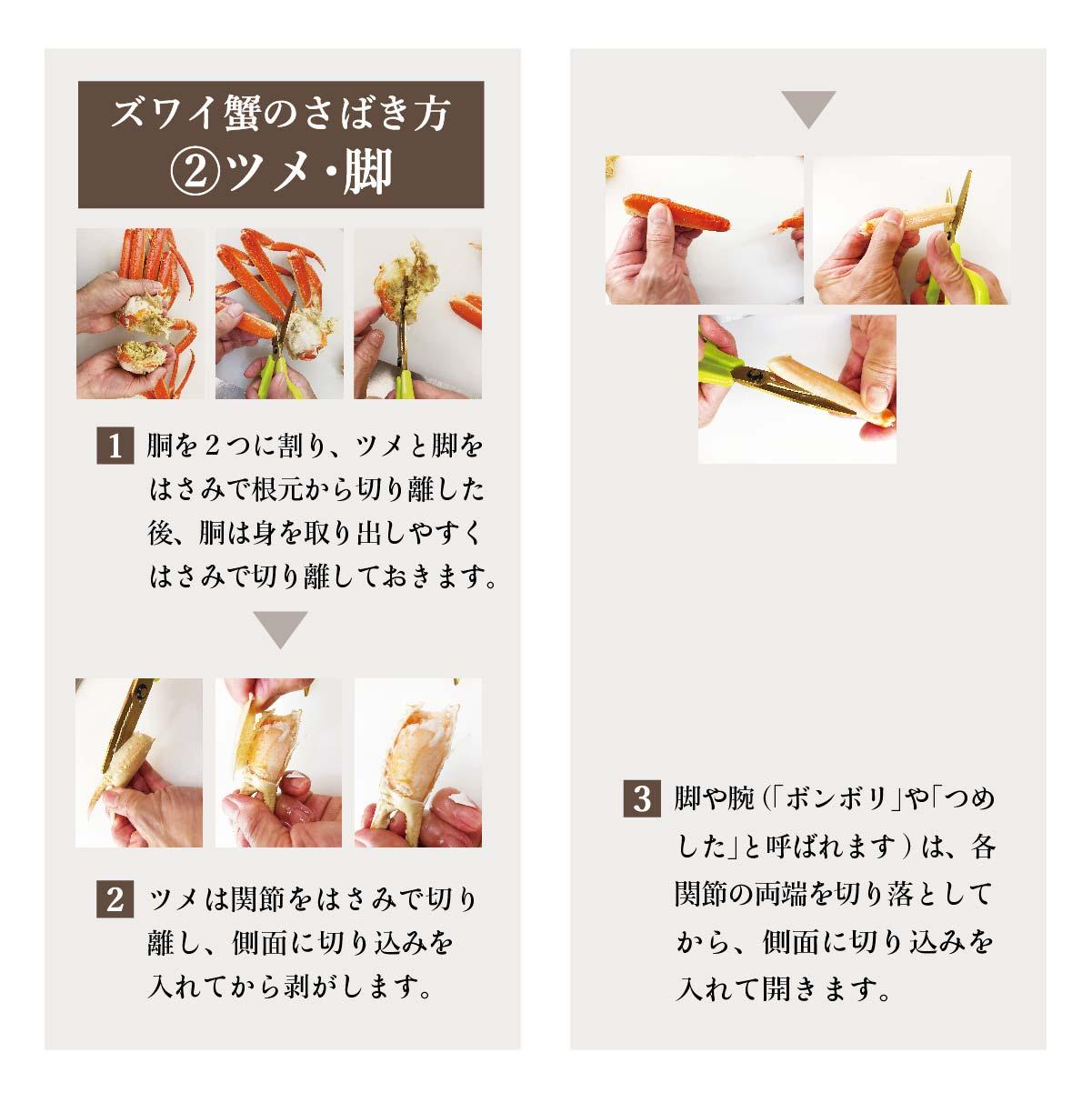 【訳アリ】MOTTAINAIボイル済ズワイ蟹 特大サイズ姿2尾