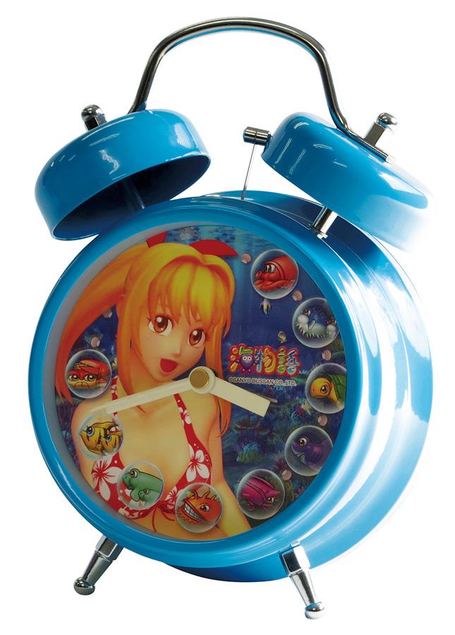 海物語 サウンド目覚し時計(2種類)【送料無料対象外】