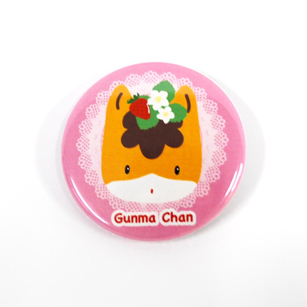 ぐんまちゃん缶バッチ【第1弾】