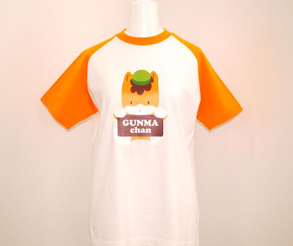 【カワイイ!】ぐんまちゃんラグランTシャツ