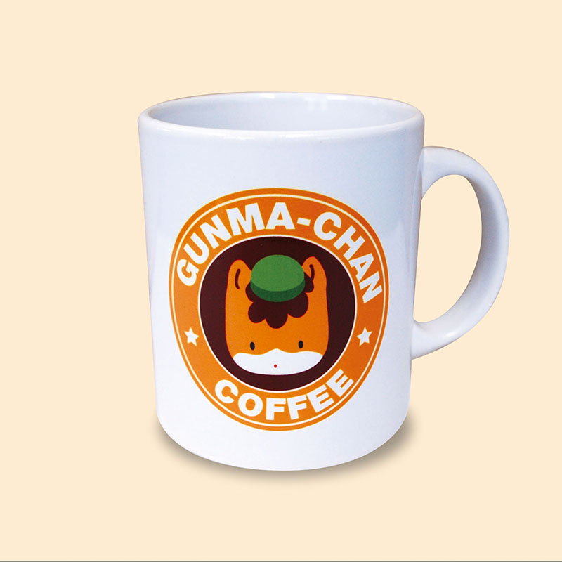 【ほっとひと息♪】ぐんまちゃんマグカップ(コーヒー)