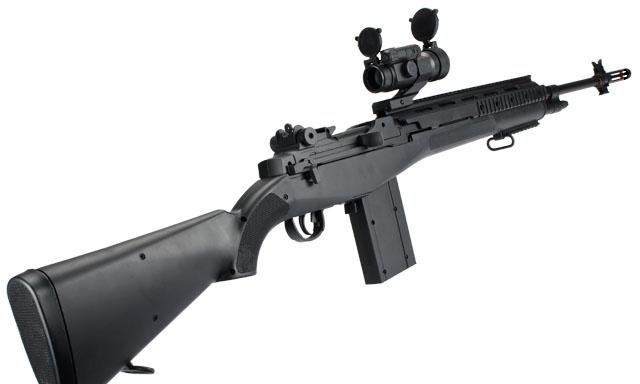 AGMM160B2BK M14 エアコッキング ロング BK