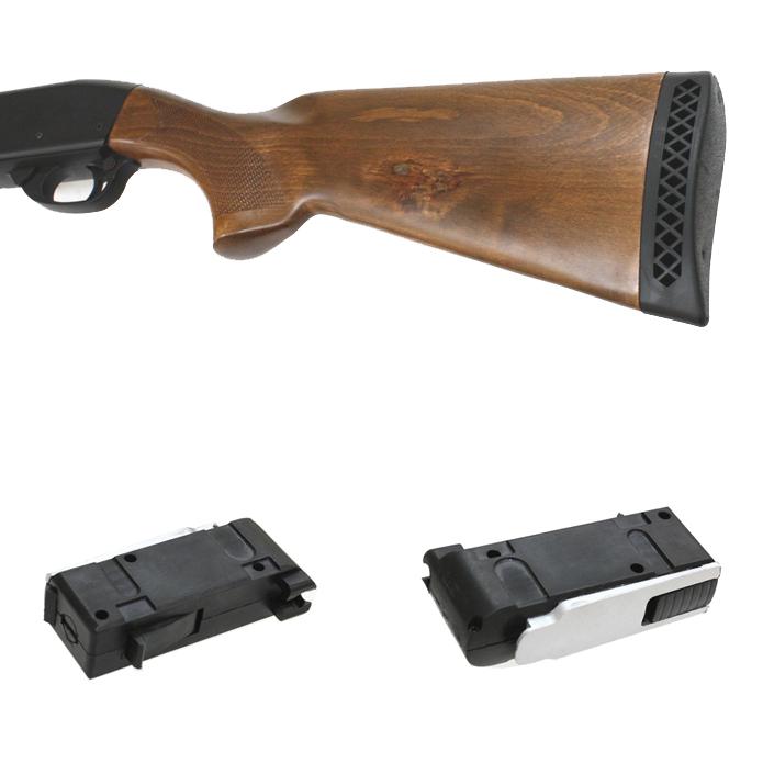 S&T M870 ミディアム リアルウッド エアーショットガン