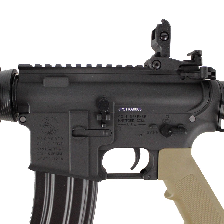 S&T M4 CQB-R フルメタル G3電動ガン(電子トリガーシステム搭載)(BK)【180日間安心保証つき】