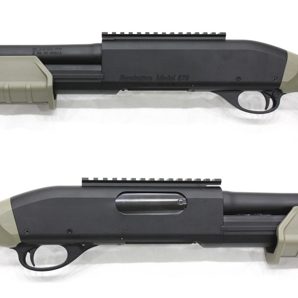 CM356MDEN M870 M-Style タクティカル フルメタル ショート DE 無刻印モデル